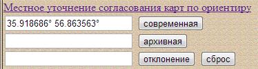 Обработка и представление архивных карт. Щекотилов В.Г. Редактор и kml.